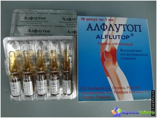 ízületi ízületi kezelés alflutop