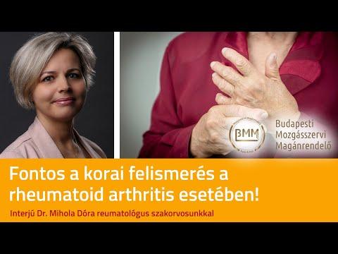 rheumatoid arthritis ujjkezelési áttekintése