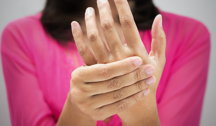 az egyik ujj ízületei fájnak