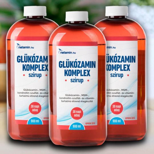 glükózamin és kondroitin folyékony formában erős gyógyszer az ízületi fájdalmakhoz