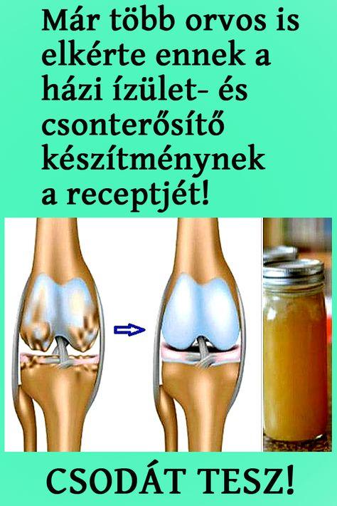 gyógynövényes receptek ízületi fájdalmakhoz