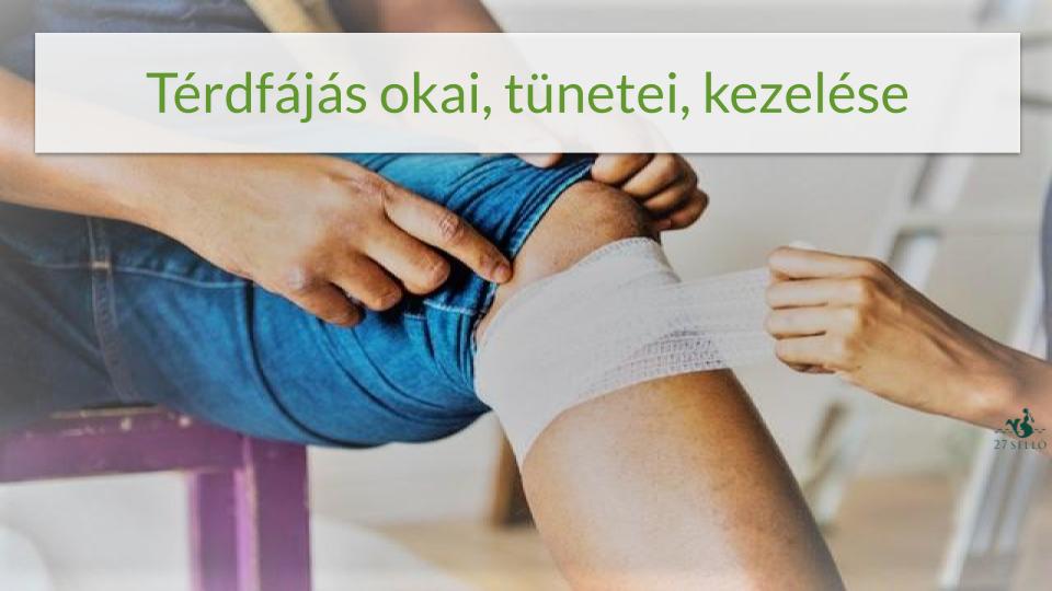 fájdalom csak térdízületekben enyhítse a bokaízület ízületi fájdalmát