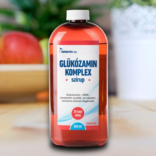 glükozamin-kondroitin és kén